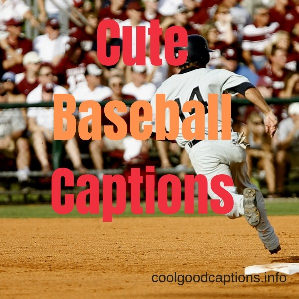 Cute Baseball Captions for Couples